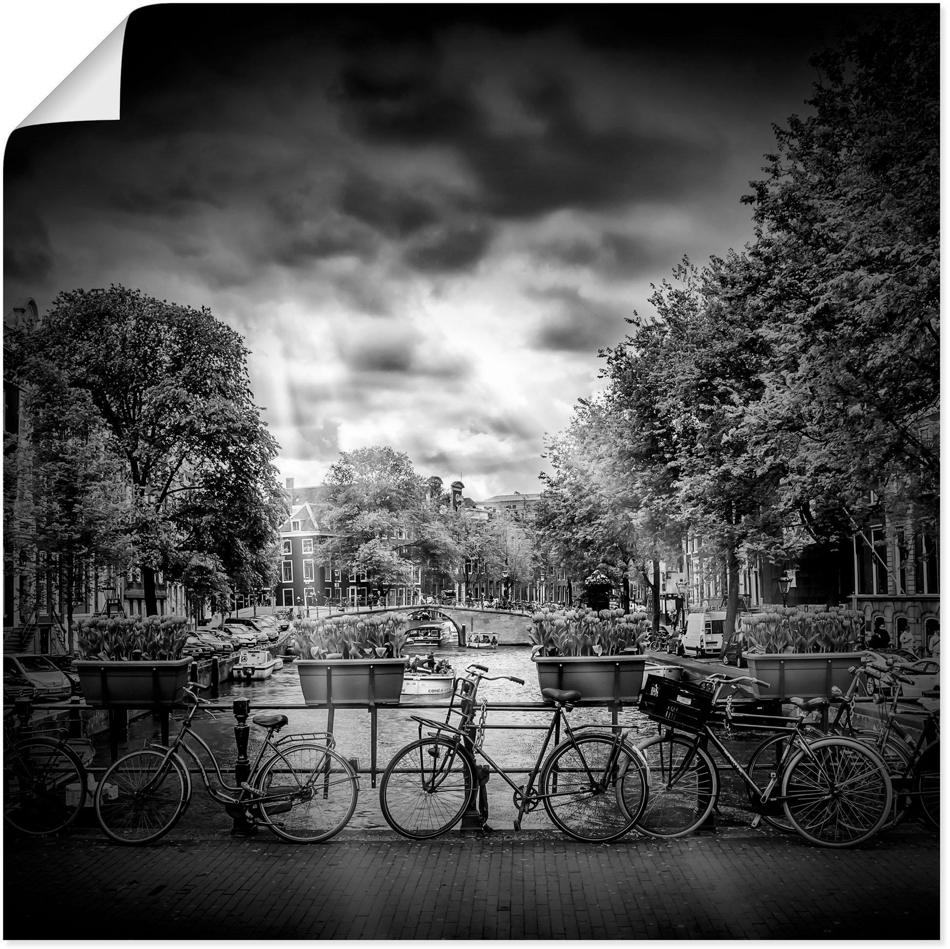 Op zoek naar een Artland artprint Amsterdam Herengracht III in vele afmetingen & productsoorten - artprint van aluminium / artprint voor buiten, artprint op linnen, poster, muursticker / wandfolie ook geschikt voor de badkamer (1 stuk)? Koop online bij OTTO