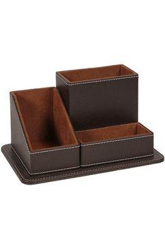 ambiente haus organizer londen bureau-organizer 20 cm (1 stuk) bruin