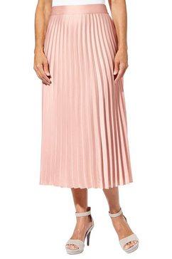 rok met plisséplooien roze