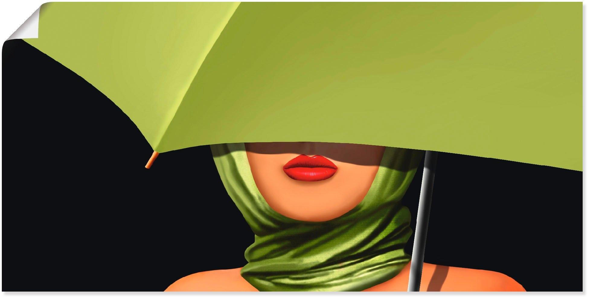 Artland artprint »Rote Lippen« voordelig en veilig online kopen