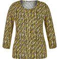 rabe shirt met print met geometrische print all-over geel