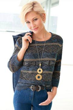 casual looks gebreide trui trui blauw