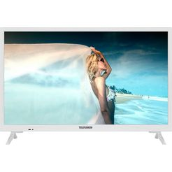 telefunken »l24h550m4-w« led-tv wit