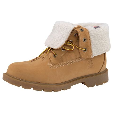 Timberland hoge veterschoenen Linden Woods Teddy Fleece