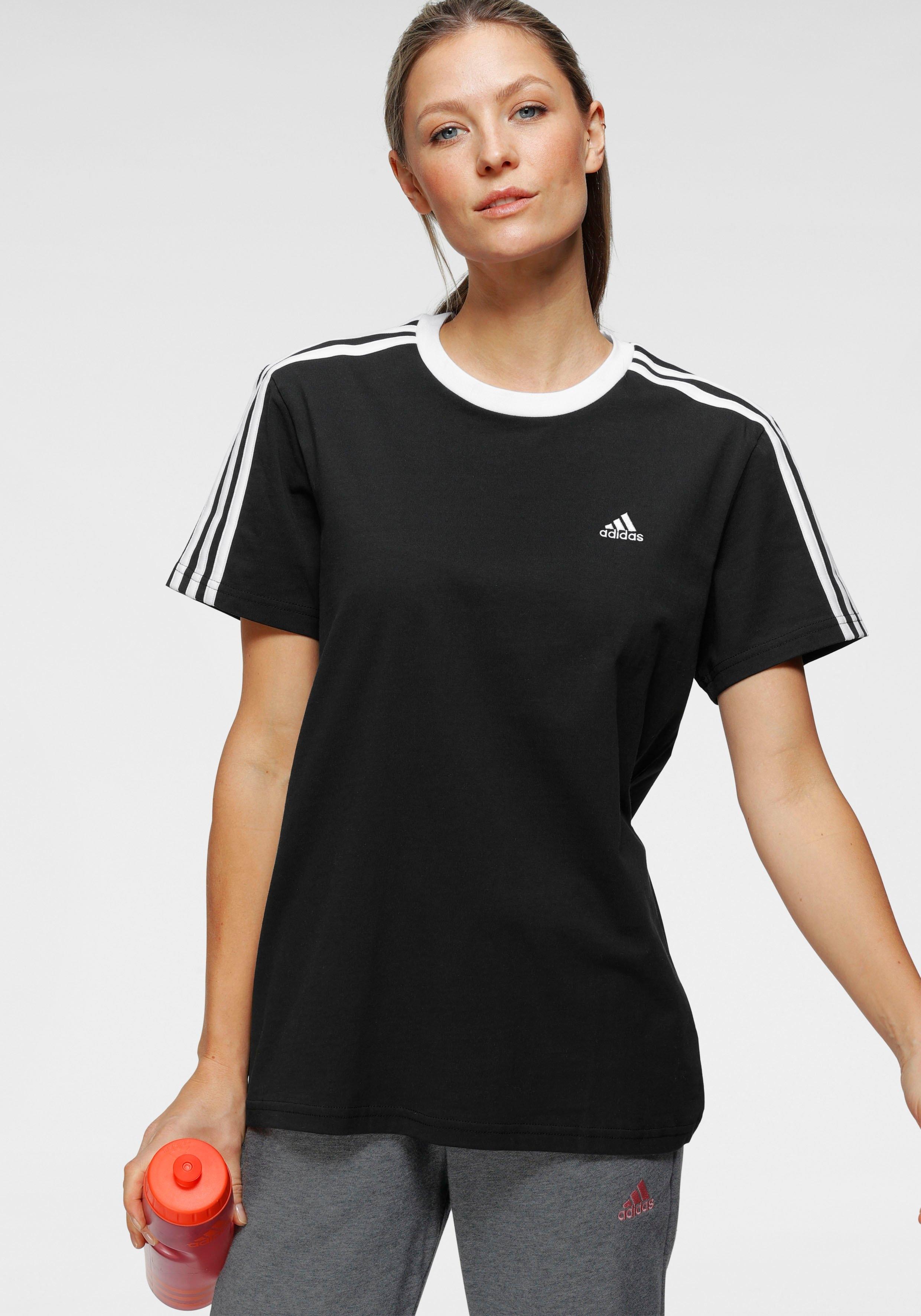 adidas Performance T-shirt ESSENTIALS 3-STRIPES T-SHIRT bij OTTO online kopen