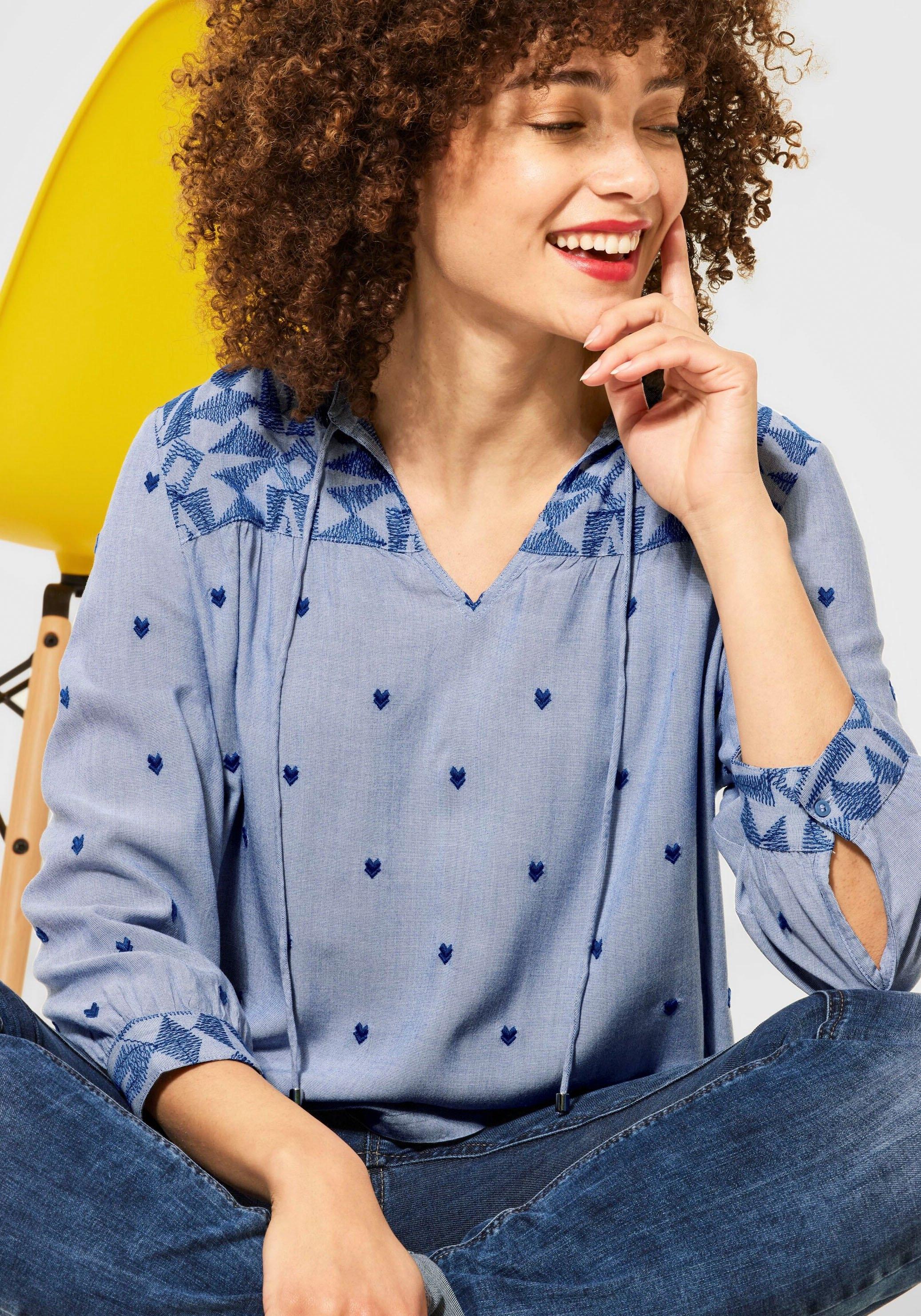 STREET ONE blouse zonder sluiting bestellen: 30 dagen bedenktijd