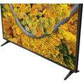 "lg lcd-led-tv 43up75009lf, 108 cm - 43 "", 4k ultra hd, smart-tv zwart"