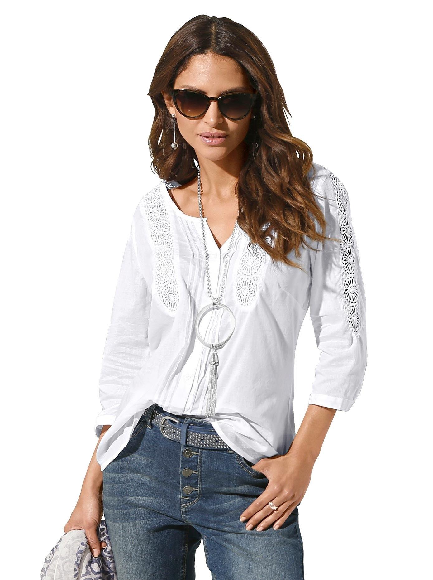 Op zoek naar een Classic Inspirationen blouse zonder sluiting? Koop online bij OTTO