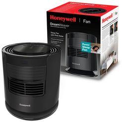honeywell tafelventilator htf400 dreamweaver™ slaapventilator met roze ruis zwart