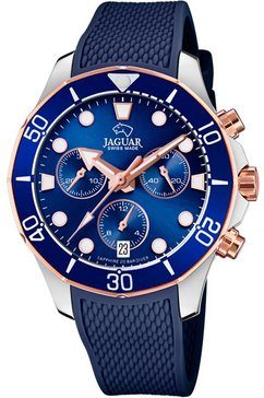 jaguar chronograaf »damen diver, j890-4« blauw