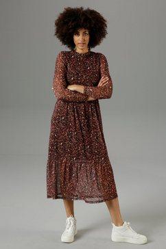 aniston casual midi-jurk met grafische print - nieuwe collectie
