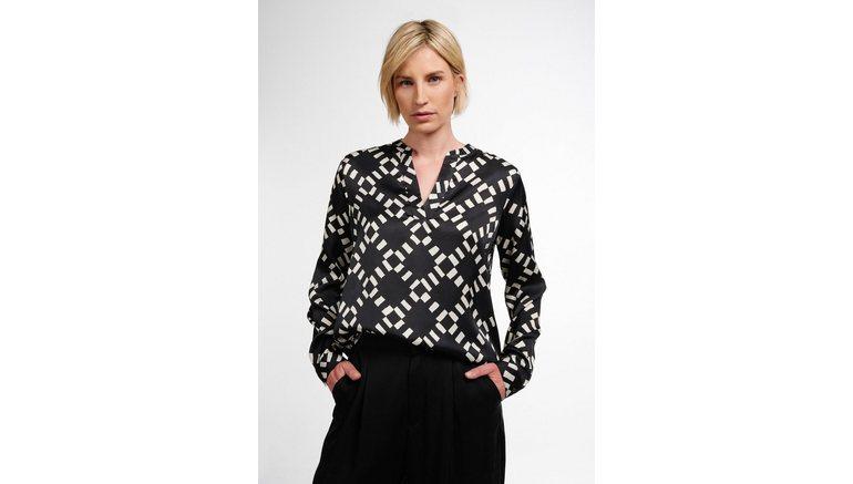 Eterna blouse zonder sluiting 1863 by ETERNA – PREMIUM Lange mouwen