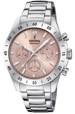 festina chronograaf boyfriend collectie, f20397-3 zilver