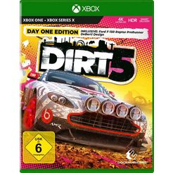 codemasters »dirt 5 - launch edition« xbox one spel