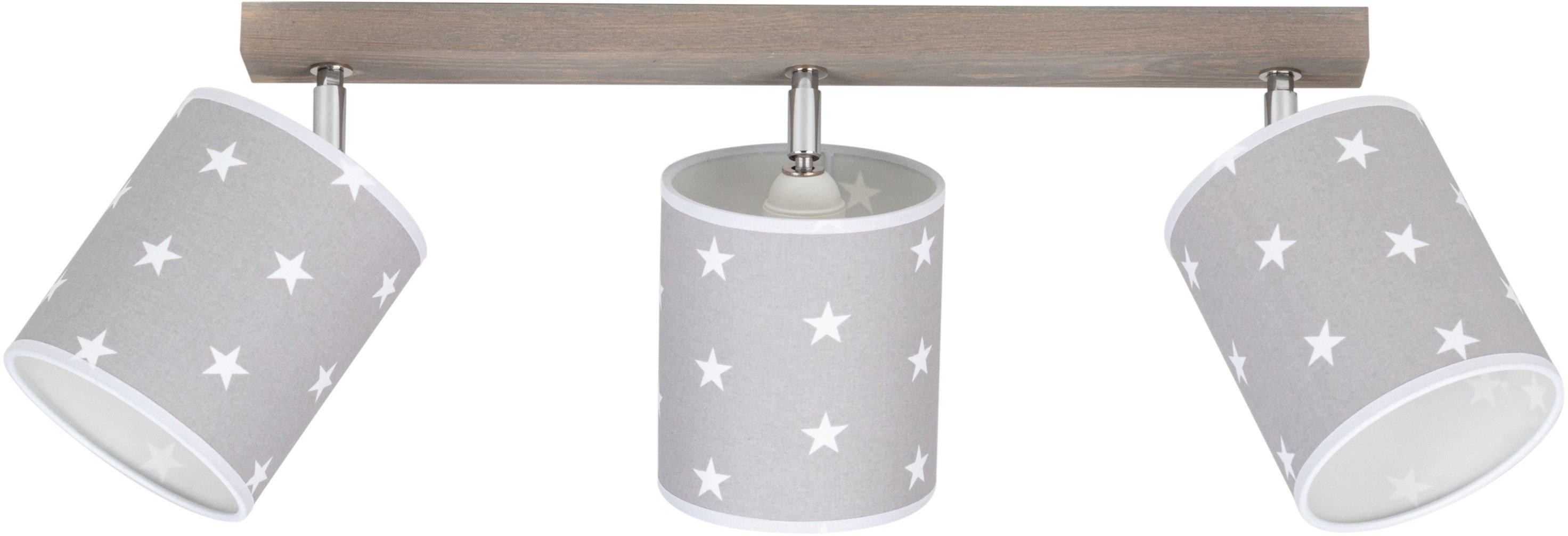 Lüttenhütt plafondlamp Fiete van massief hout, duurzaam met fsc®-certificaat, textielen kappen, bijpassende lm e27/exclusief, made in europe (1 stuk) voordelig en veilig online kopen