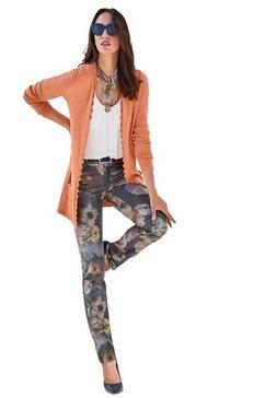 gedessineerde broek multicolor