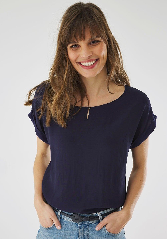 Mexx shirt met knoopdetail bij de hals online kopen op otto.nl