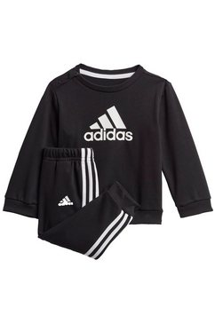 adidas performance joggingpak »badge of sport french terry« zwart