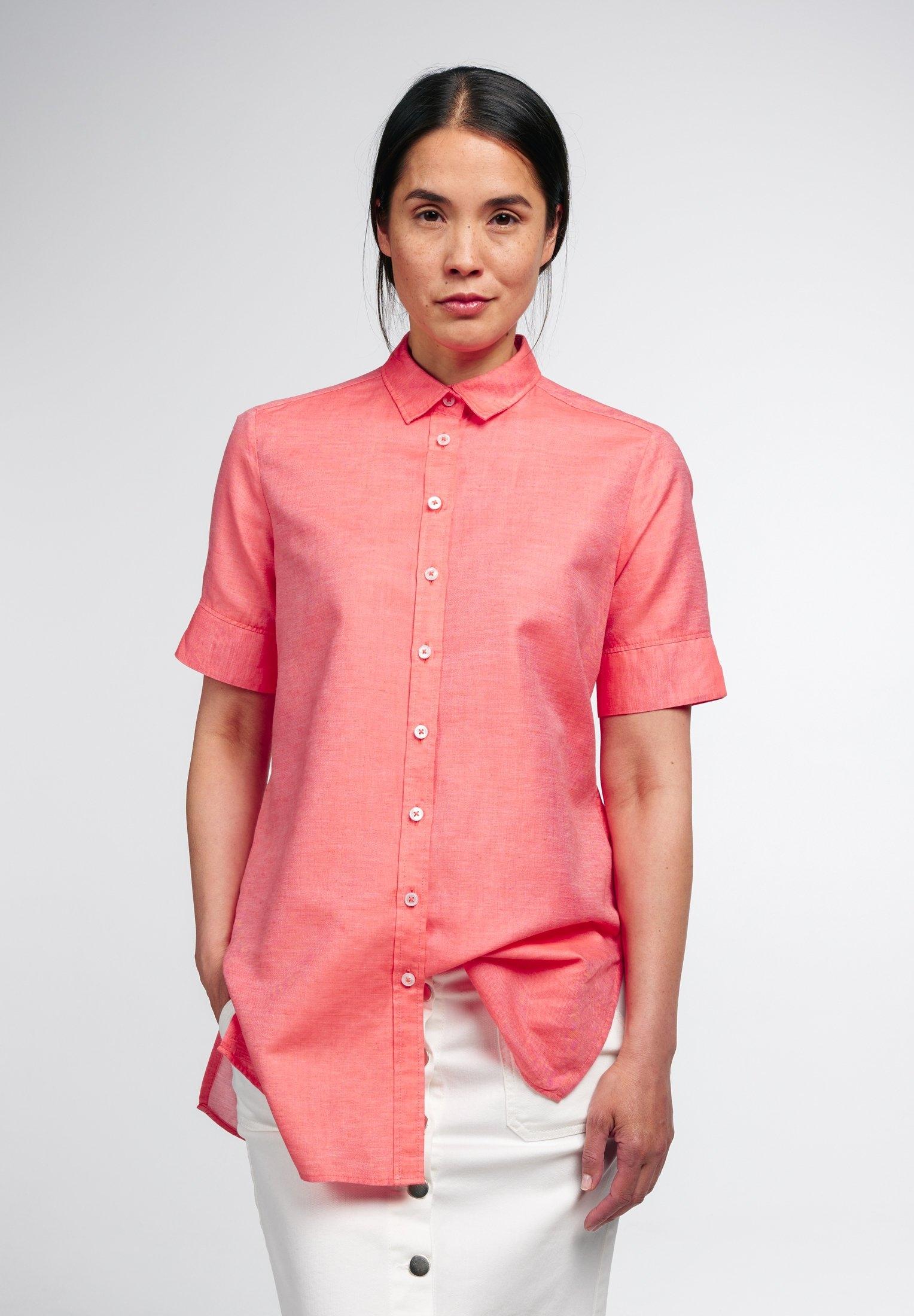 Eterna blouse met korte mouwen MODERN CLASSIC - verschillende betaalmethodes