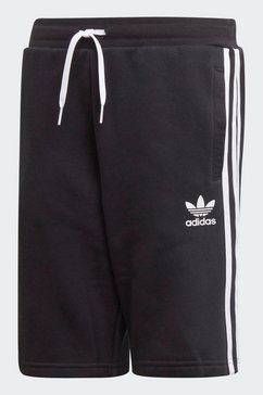 adidas originals short »fleece« zwart