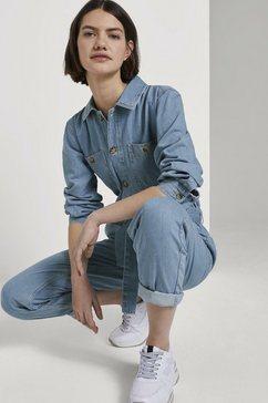tom tailor denim jumpsuit »jeans jumpsuit« blauw