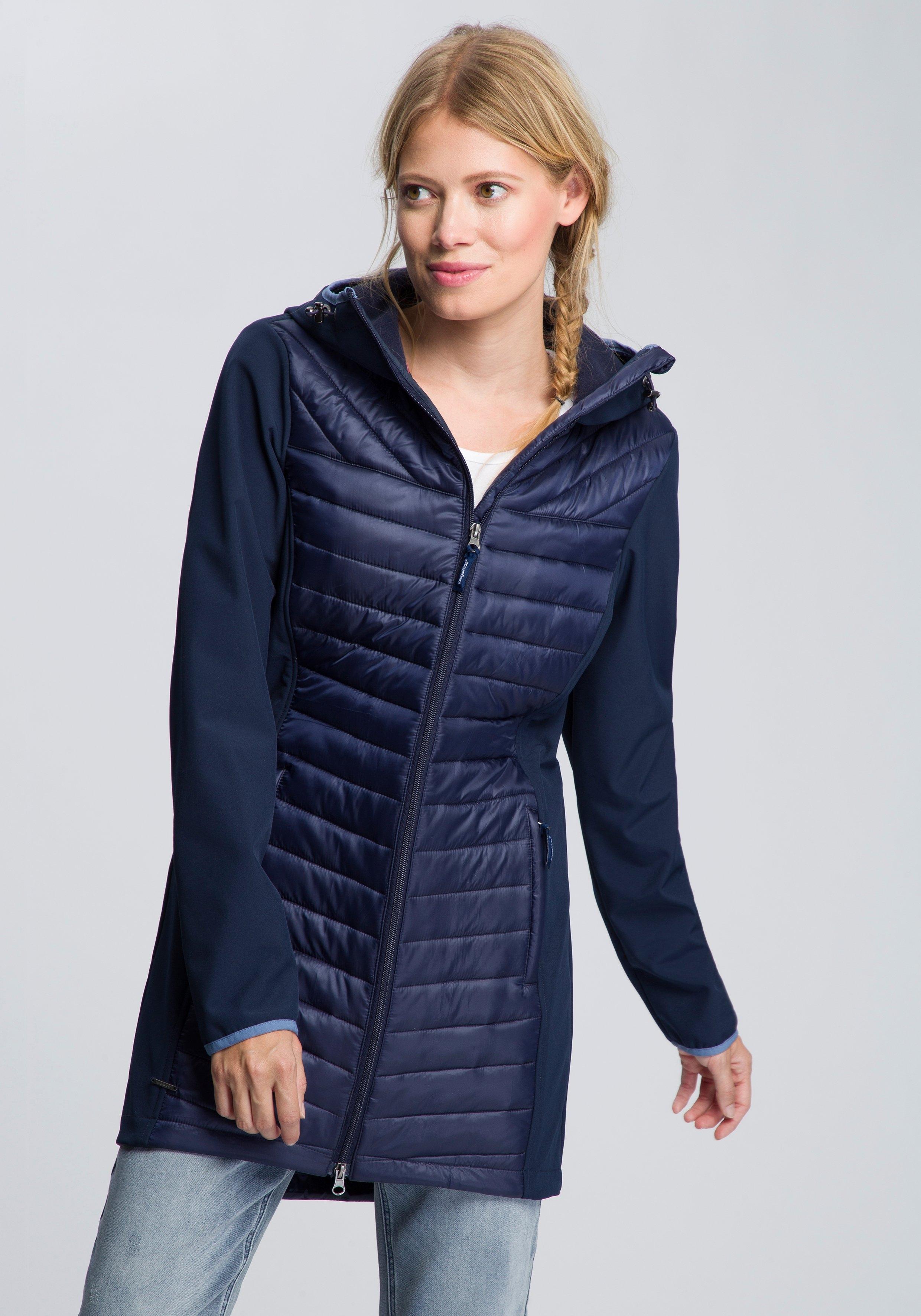 KangaROOS softshell-jack met gewatteerd doorgestikt voorpand voordelig en veilig online kopen