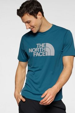 the north face t-shirt blauw