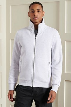 superdry sweatvest ol classic track top wit