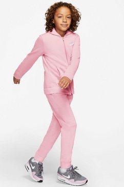 nike sportswear joggingpak boys nsw track suit core (set, 2-delig) roze