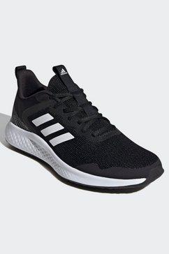 adidas runningschoenen fluidstreet zwart