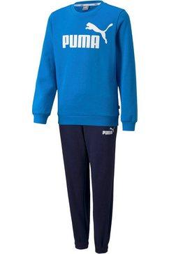 puma joggingpak ess logo sweat suit fleece boys zwart