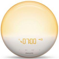 philips daglichtwekker hf3519-01 wake up light voor natuurlijker wakker worden wit