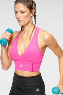 adidas sport-bh designed to move bra top roze