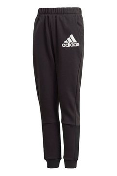 adidas performance joggingbroek »badge of sport« zwart