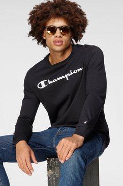 champion shirt met lange mouwen crewneck long sleeve t-shirt zwart