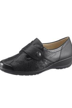 hallux soft by goldkrone klittenbandschoenen zwart
