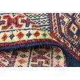 morgenland wollen kleed turkaman vloerkleed met de hand geknoopt blauw blauw