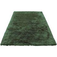vachtvloerkleed, »lenja«, leger home by lena gercke, rechthoekig, hoogte 60 mm, machinaal getuftet groen