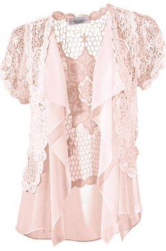 ashley brooke by heine korte bodywarmer roze