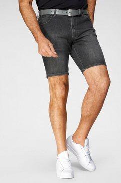 wrangler jeansshort texas grijs