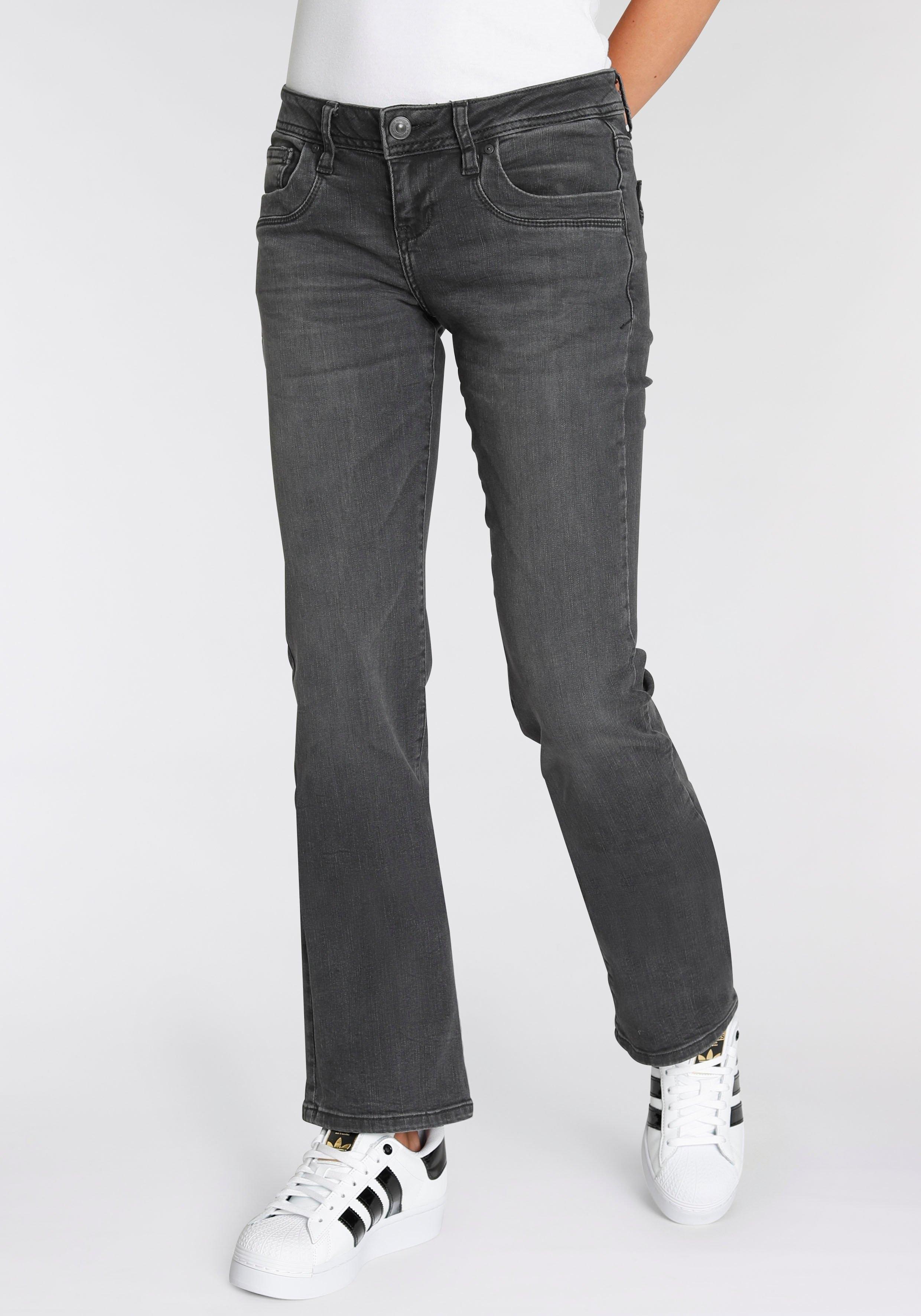 LTB Bootcut jeans Valerie met uitlopende pijpen en lage taillehoogte in 5-pocketsstijl nu online kopen bij OTTO