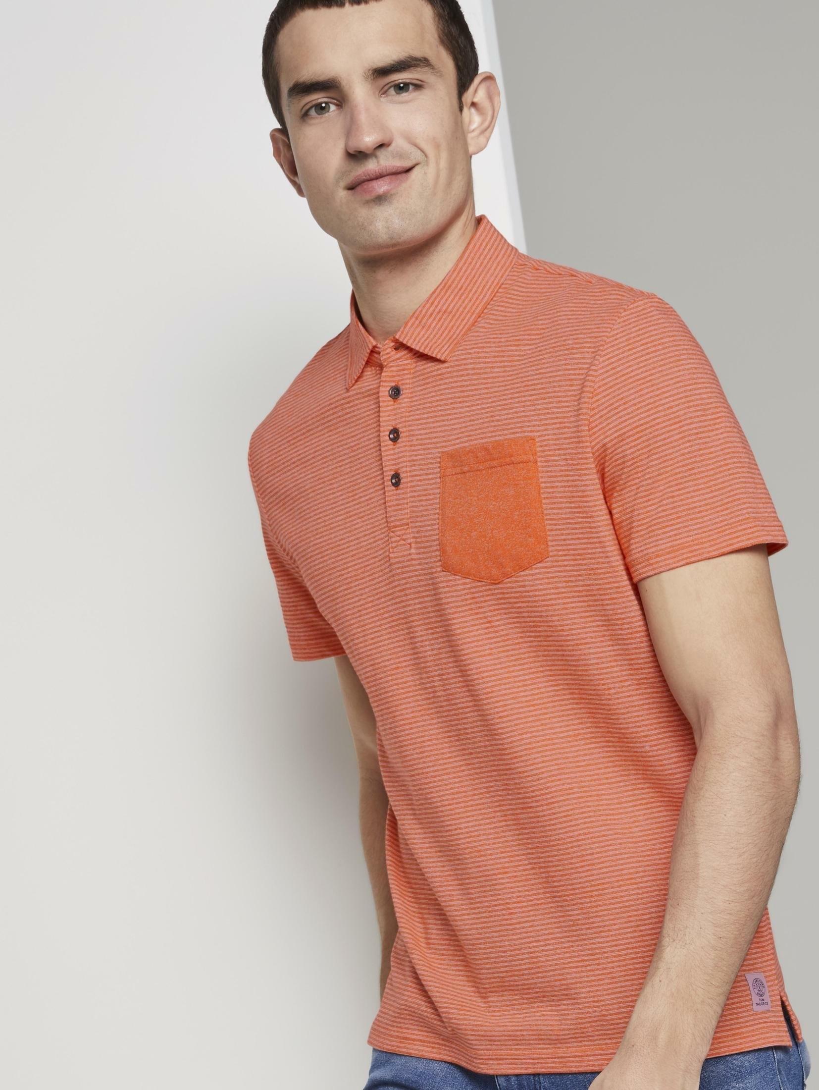 Op zoek naar een Tom Tailor poloshirt »Gemustertes Poloshirt aus Jersey«? Koop online bij OTTO