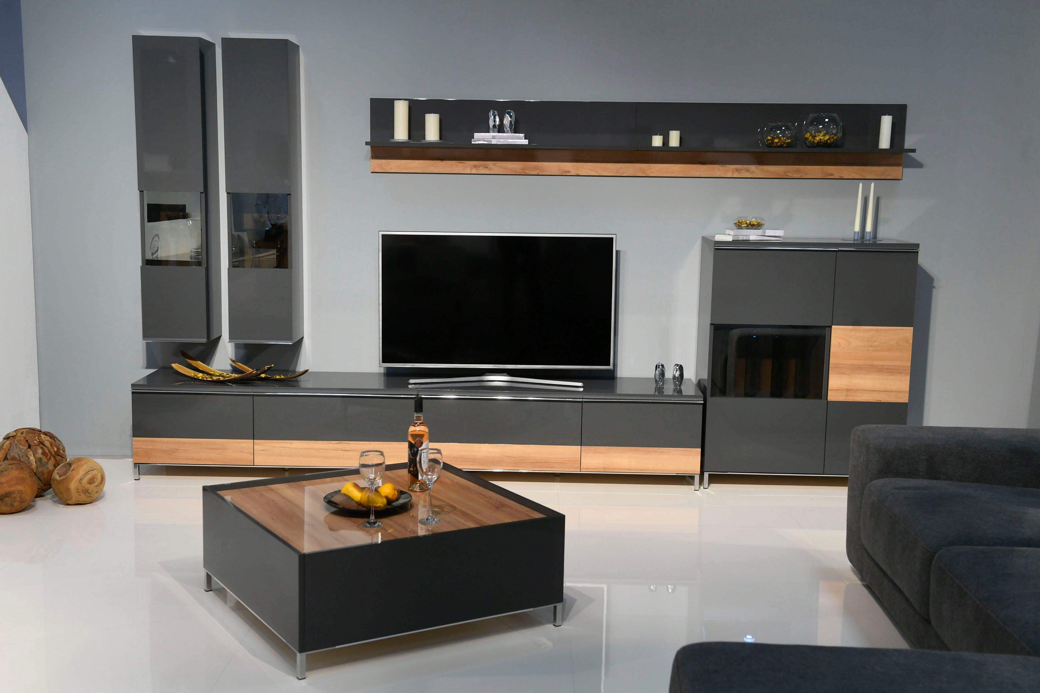 Places of Style hangvitrine Onyx met soft-closefunctie, naar keuze met of zonder glasinzet - verschillende betaalmethodes
