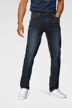 bruno banani straight jeans hutch blauw