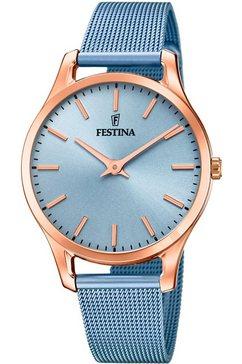 festina kwartshorloge f20507-2 blauw