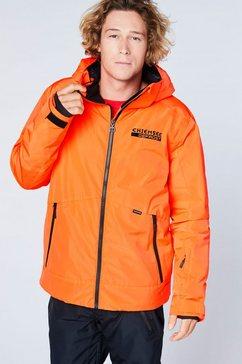 chiemsee ski-jack oranje