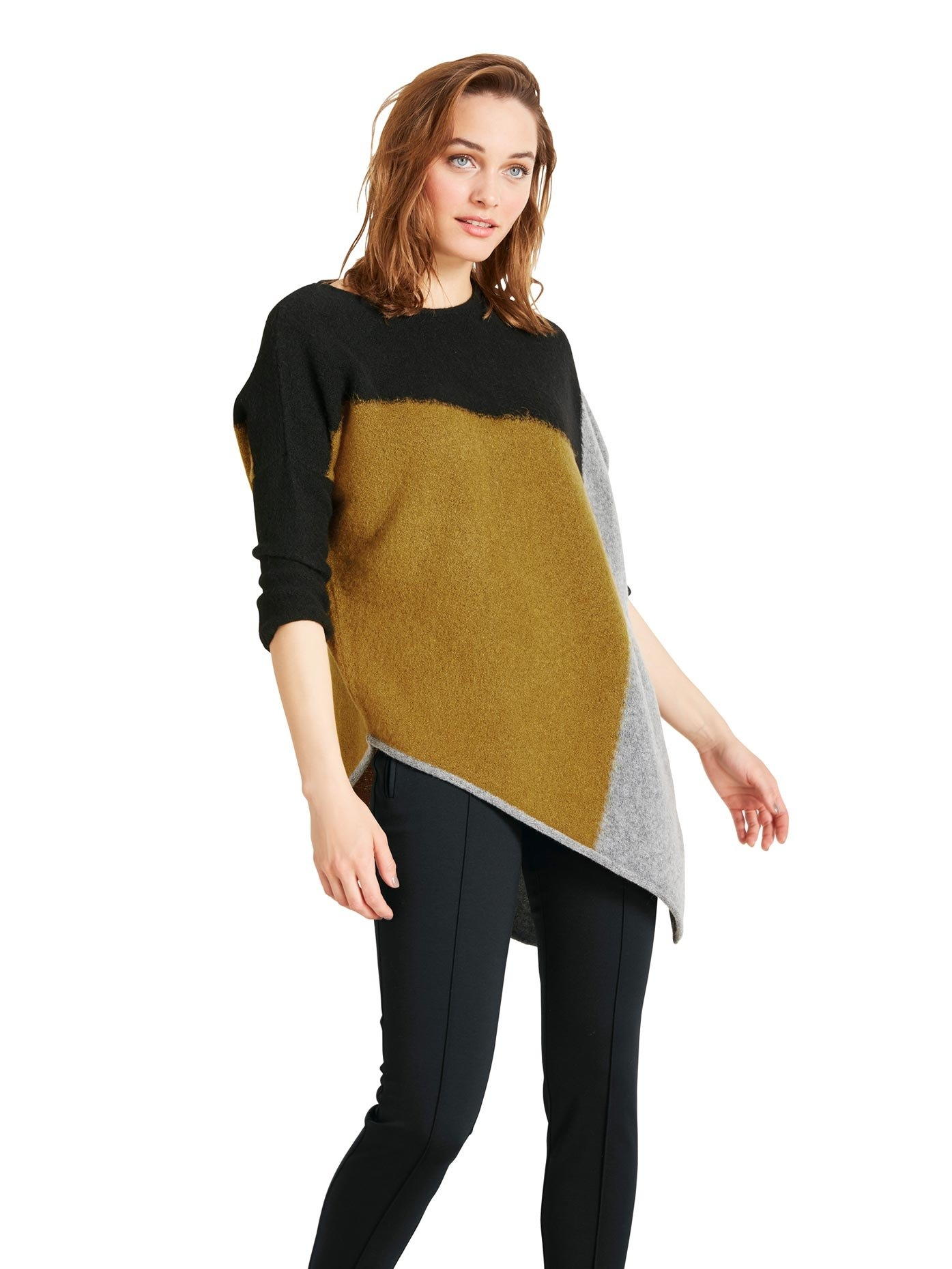 RICK CARDONA by Heine gebreide trui met 3/4 mouwen - verschillende betaalmethodes