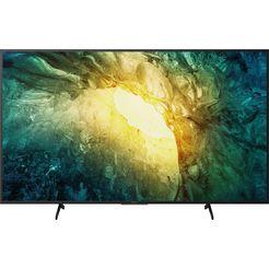 sony kd55x7055 bravia led-televisie (139 cm - (55 inch), 4k ultra hd, smart-tv