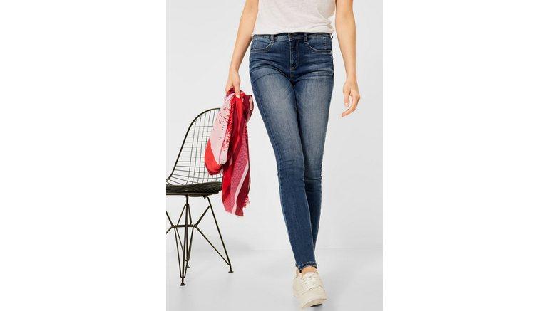 STREET ONE slim fit jeans High Waist