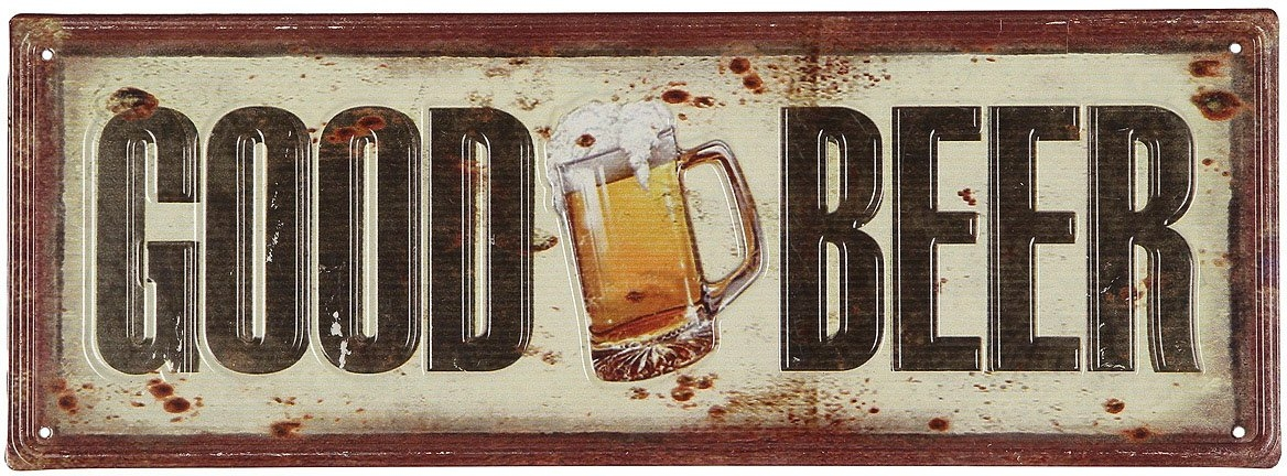 Op zoek naar een Ambiente Haus metalen artprint Good Beer artprint 36 cm (1 stuk)? Koop online bij OTTO